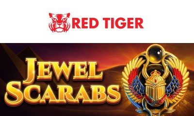 Red Tiger - Jewel Scarabs for Online Casinos