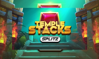 Yggdrasil releases first Splitz game Temple Stacks with unparalleled win potential
