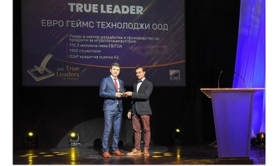 "Euro Games Technology Wins ""True Leader"" Award"