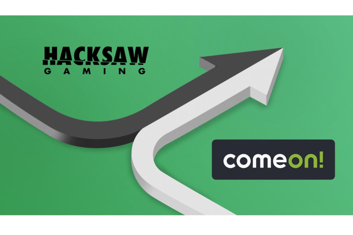 Hacksaw Gaming live with ComeOn!