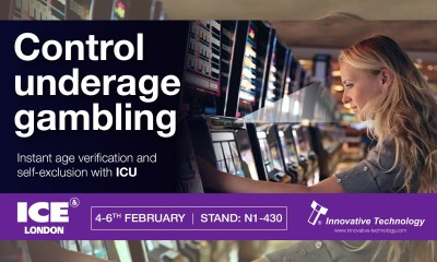 ITL show the industry how to combat underage gambling and manage self-exclusion at ICE 2020