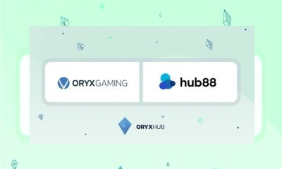 ORYX Gaming enters a deal with Hub88