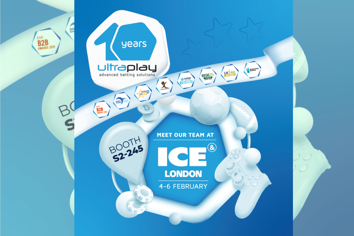 UltraPlay marks its 10-year anniversary at ICE London