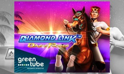 GREENTUBE'S - Diamond Link series expands with another gem-filled addition Diamond Link: Oasis Riches