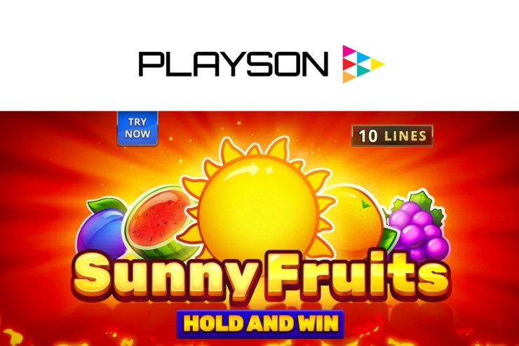 Banish those frosty winter nights with Playson's Sunny Fruits