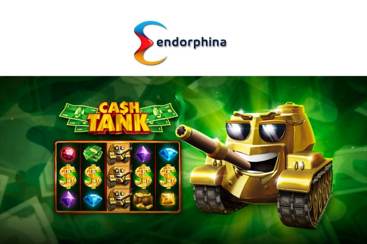 Endorphina's newest CASH TANK slot