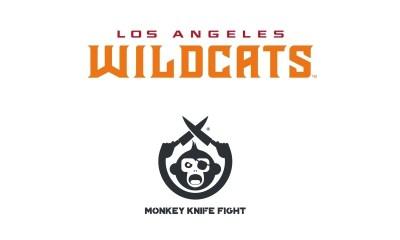 XFL LA Wildcats And Monkey Knife Fight Announce Marketing Partnership