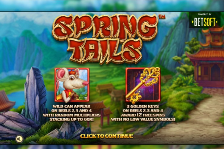 Betsoft Releases Spring Tails