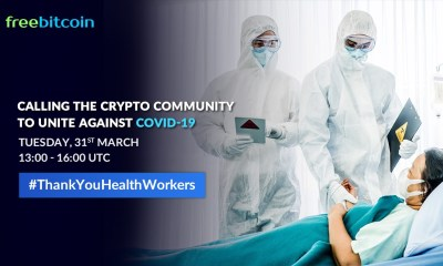 FreeBitco.in Organizes 10 Donation Hour events to Support Health Workers