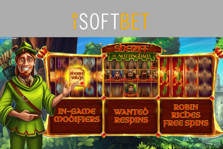 iSoftBet hits the target with Sheriff of Nottingham