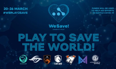 WeSave! Charity Play announcement