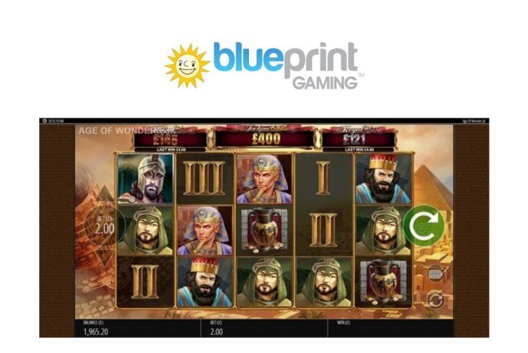Blueprint Gaming adds legendary title Wonder of Ages to Jackpot King series