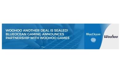 BlueOcean gaming integrates Woohoo Games