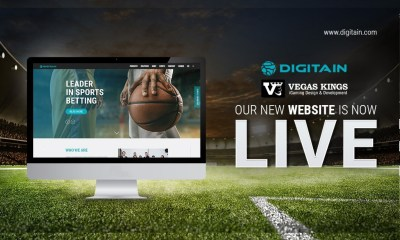 Vegas Kings Proudly Redesigns Digitain's B2B Website