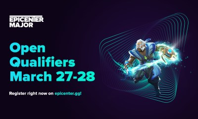 The registration for open qualifiers EPICENTER Major 2020 has started