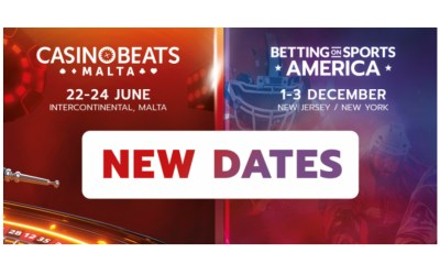 New dates for CasinoBeats Malta and Betting on Sports America