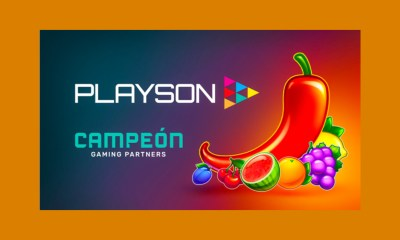 Campeón Gaming Partners to launch Playson portfolio of games