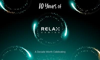 Relax Gaming Celebrates 10 Year anniversary