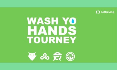 Softgiving supports Cloud9, Dignitas, FlyQuest, and Immortals for Wash Yo Hands Tourney, an online charity stream benefiting the COVID-19 LA County Response Fund