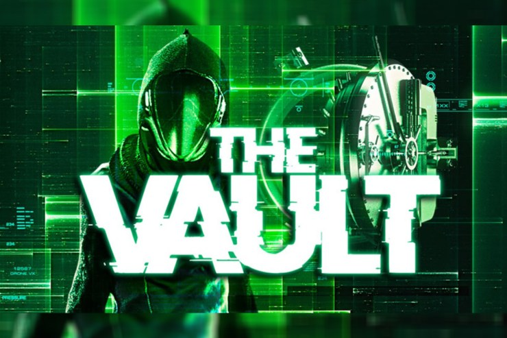 "Microgaming pres. ""The Vault"" Slot"