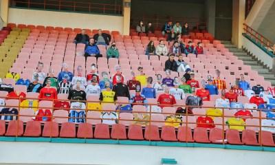Fantastic! Virtual football fans in Belarus!