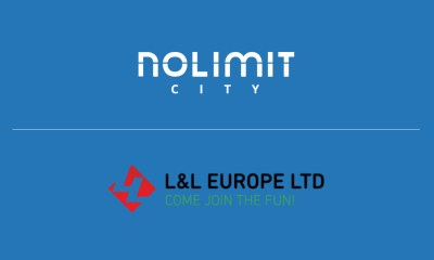 L&L Europe celebrate new partnership deal with Nolimit City