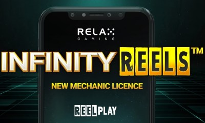 Relax Gaming lands branding deal for ReelPlay's Infinity Reels™