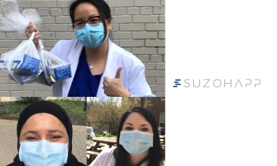 SUZOHAPP Donates Surgical Masks to MPAC Healthcare