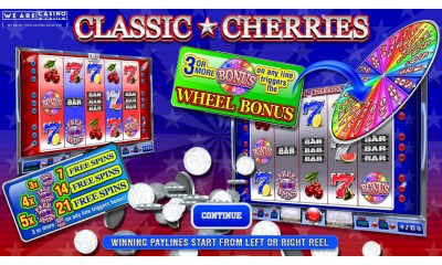 "WeAreCasino and Silver Lining Studios Launch ""Classic Cherries"" Slot Game"