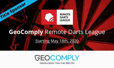 GEOCOMPLY SPONSORS THE REMOTE DARTS LEAGUE – SUPPORTING THE INDUSTRY WITH LIVE SPORTS!