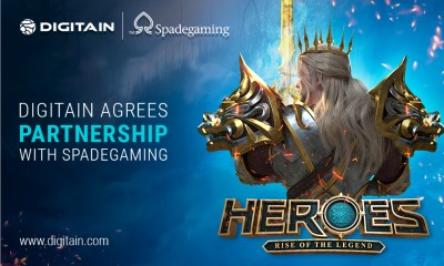 Digitain bolsters action-packed portfolio with Spadegaming integration