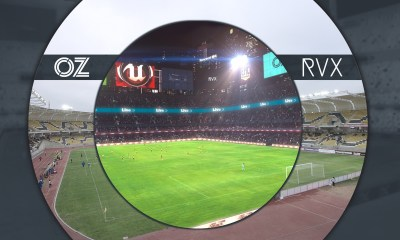 OZ Sports uses Augmented Reality to put football fans at the heart of closed-door broadcasts
