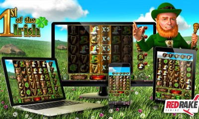 1st of the Irish, the new cluster video slot from Red Rake Gaming
