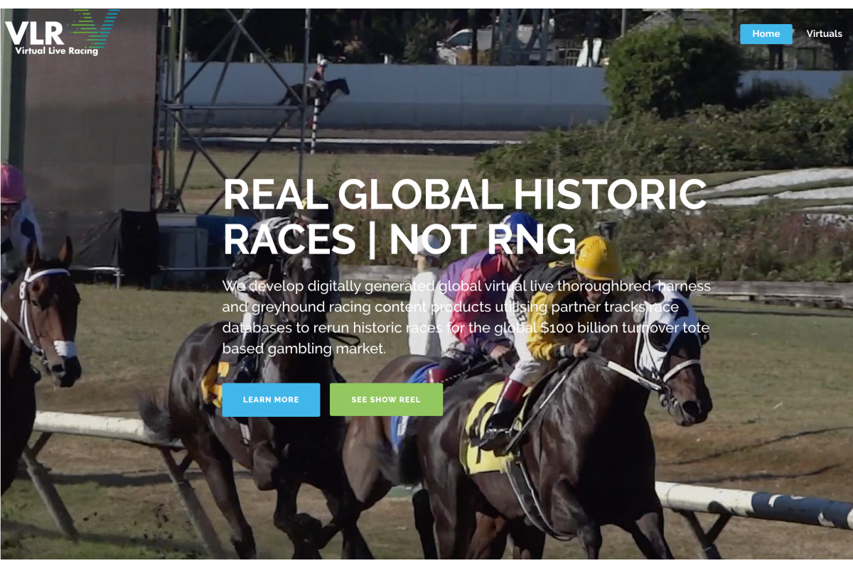 Online betting pioneer creates another first with live virtual racing products