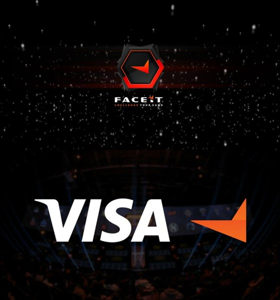 VISA and FACEIT Announce $450,000 Esports Programme with Gazprombank