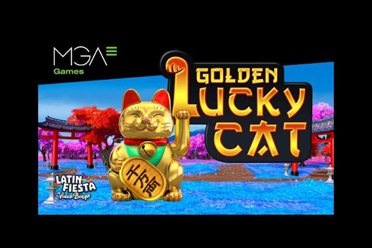 """MGA Games Releases """"Golden Lucky Cat"""""""