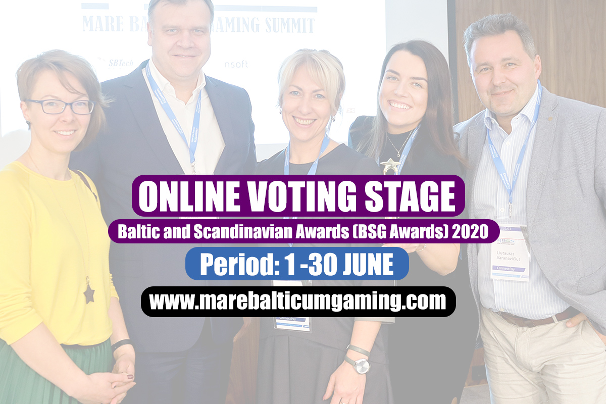 The online voting session for the Baltic and Scandinavian Awards (BSG Awards) 2020 is now live!