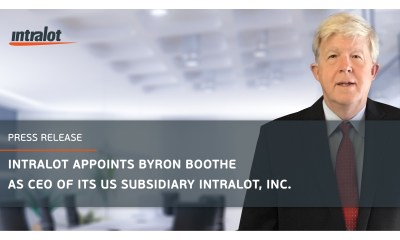 INTRALOT Appoints Byron Boothe as CEO of its US Subsidiary INTRALOT, Inc.