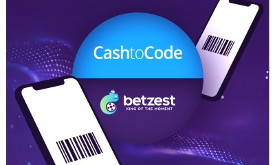 Online Casino and Sportsbook BETZEST™ goes live with payment provider CashtoCode