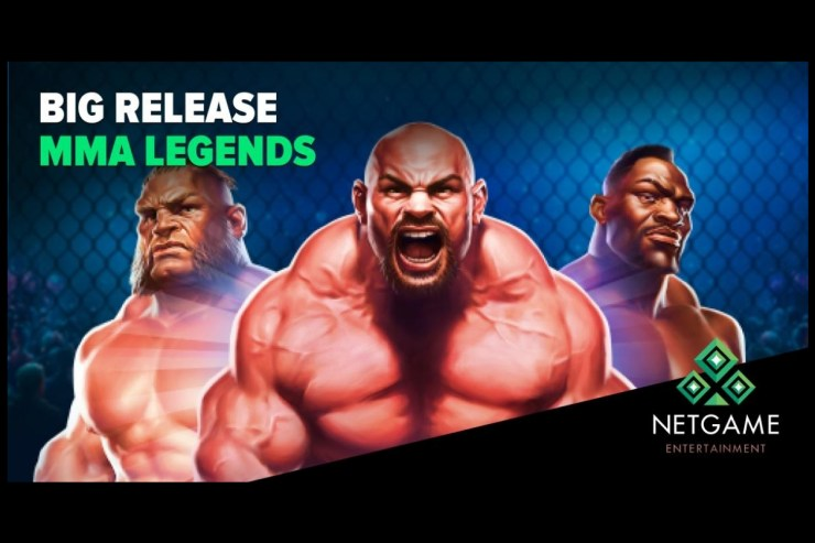 "NetGame Entertainment Releases its New Slot ""MMA Legends"""