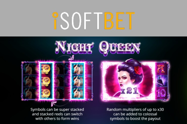 Enter the enchanted world of iSoftBet's Night Queen