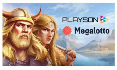 Megalotto enhances casino content with Playson agreement