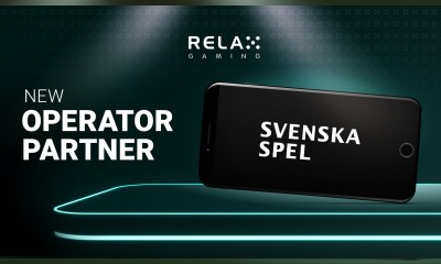 Relax Gaming enters landmark partnership with Svenska Spel