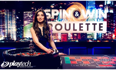 Playtech and PokerStars launch exclusive Spin & Win Live Roulette