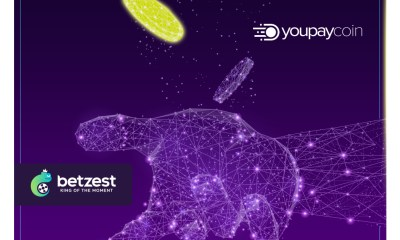 Online Casino and Sportsbook BETZEST™ goes live with innovative payment method youpaycoin™