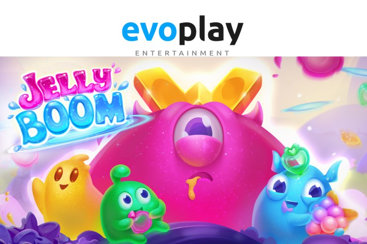Evoplay Entertainment explores a world of pure imagination in Jelly Boom