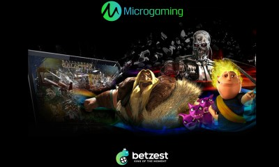 Online Casino and Sportsbook BETZEST™ goes live with leading Casino provider Microgaming™