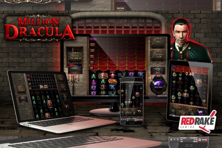 Experience terror and excitement with Million Dracula, the new video slot from Red Rake Gaming with 1 million different ways to win