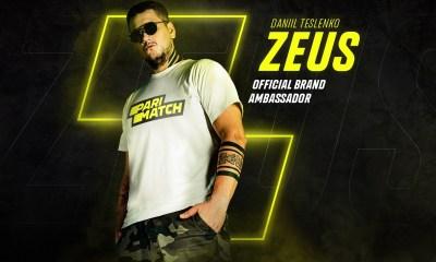 "Parimatch appoints first esports brand ambassador Daniil ""Zeus"" Teslenko"
