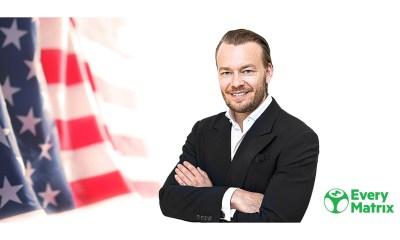 EveryMatrix recruits Erik Nyman to establish US presence